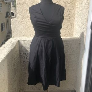 ModCloth Tropical Wear black dress